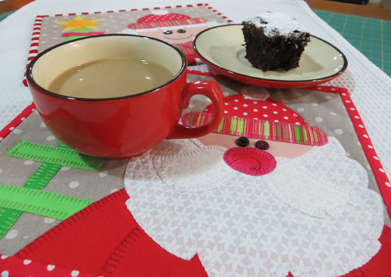 coffee and brownies small