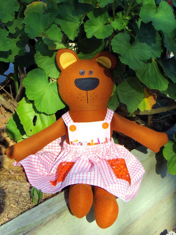 little bear dress