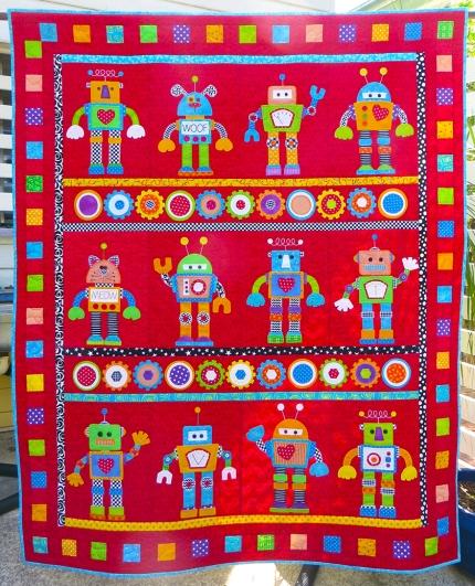 robot quilt