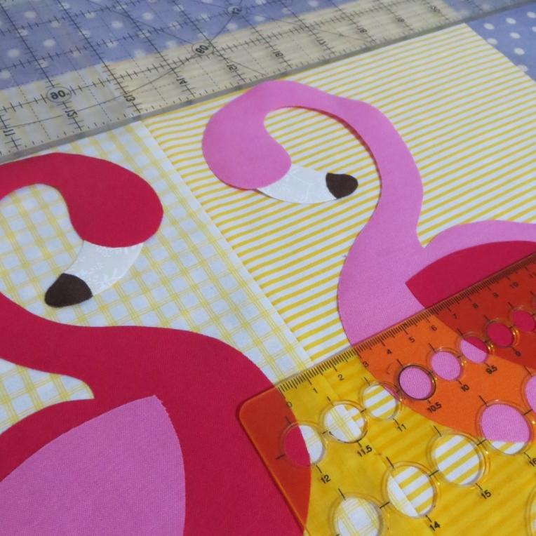 measuring flamingos