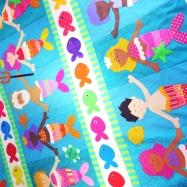 mermaid quilt new