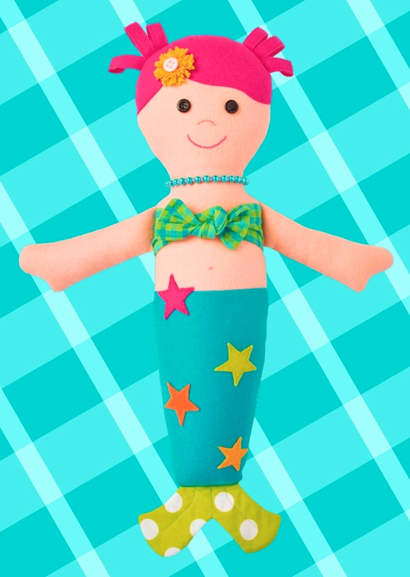 happy mermaid