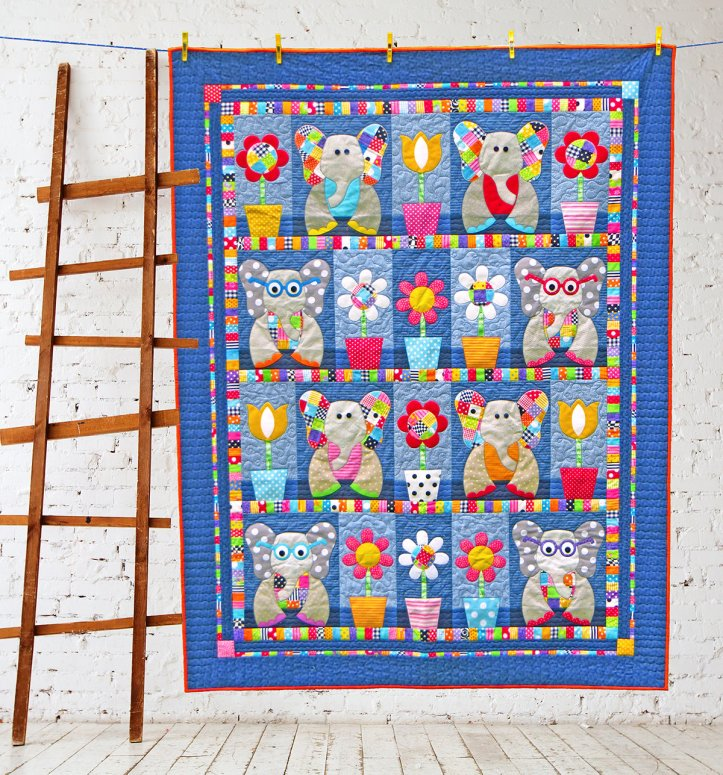 patchwork elephants 1