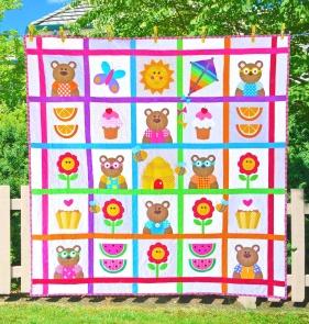 teddy bears picnic bright