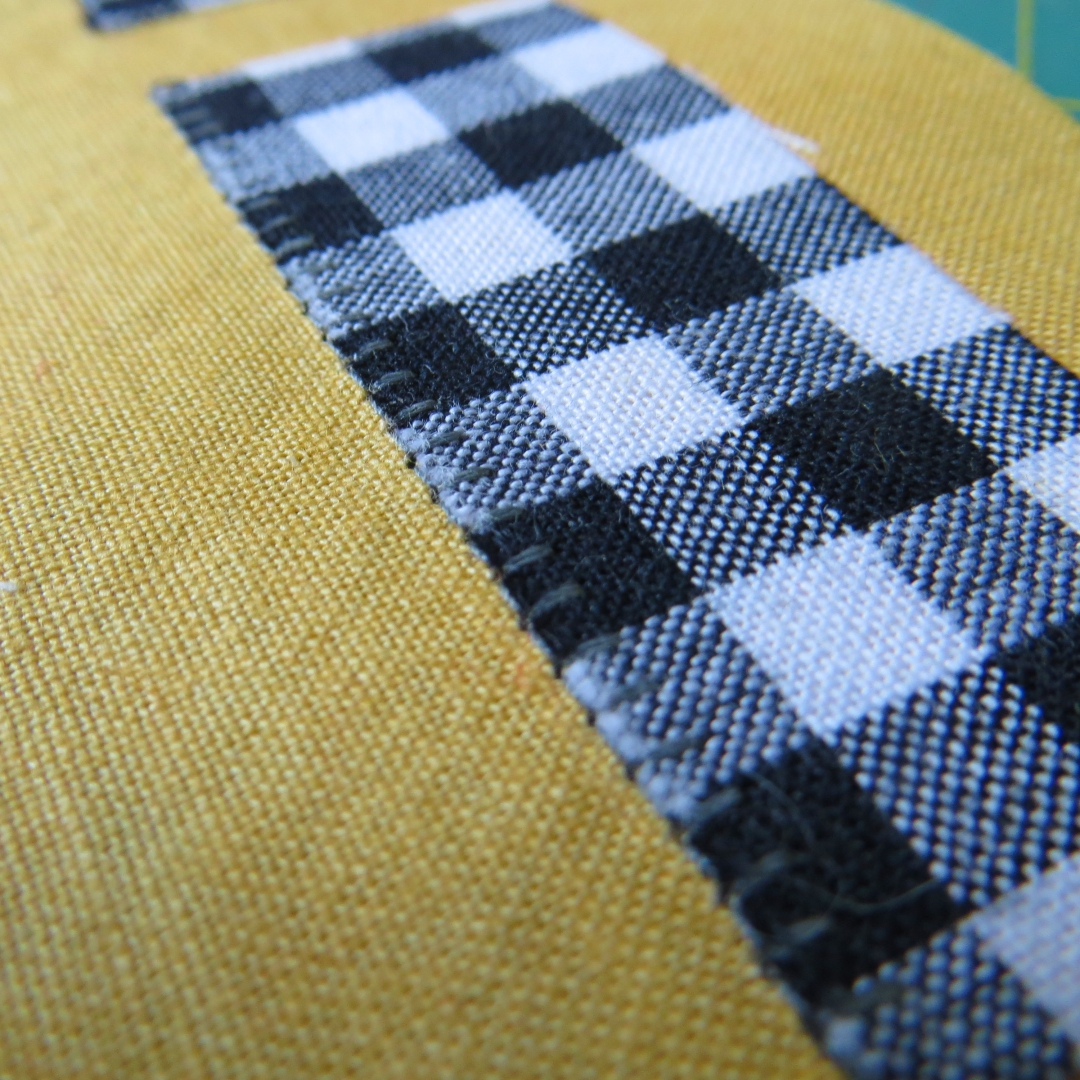 grey blanket stitch