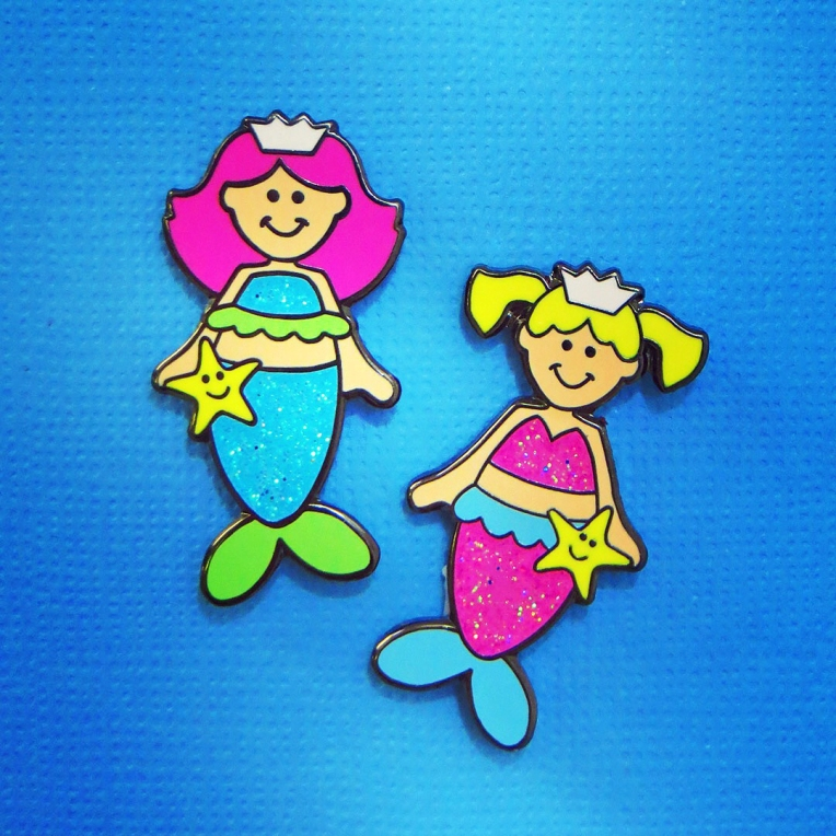 1_mermaid pins_2018