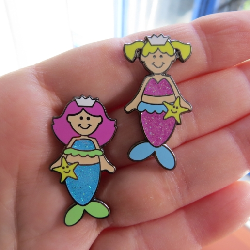 mermaid pins