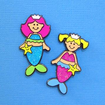 mermaid pins