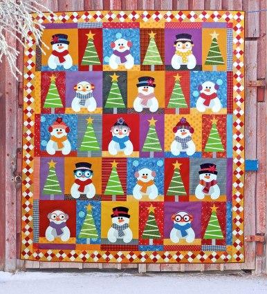 Scrappy Snowmen