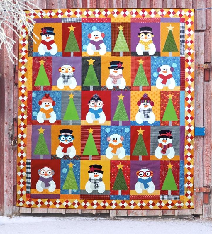 snowman quilt mac