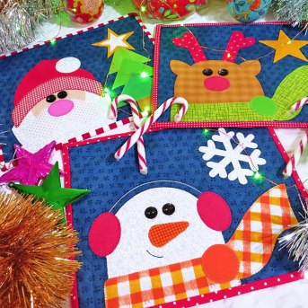 Jingle Bells Mug Rugs