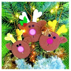 FREE Reindeer Games Ornaments
