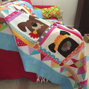 dog quilt 2